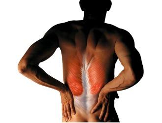 Растяжение мышц спины