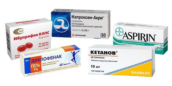 Для устранения воспаления и отечности можно воспользоваться одним из данных препаратов