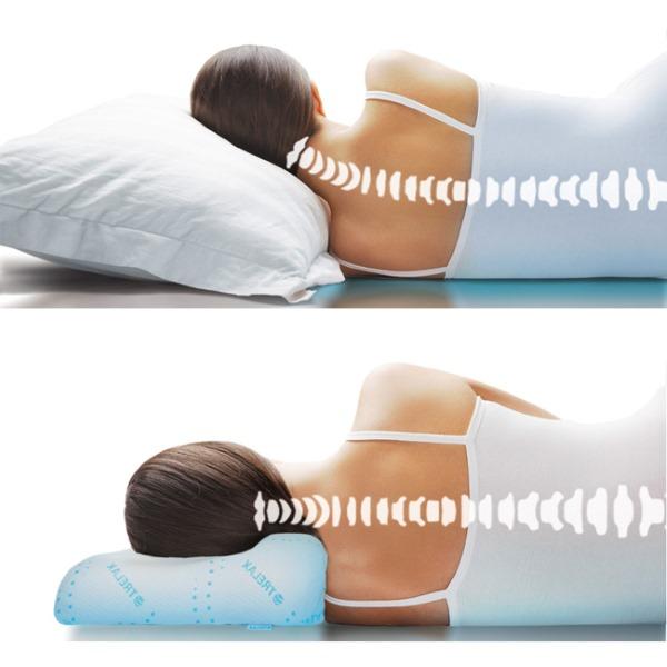 Важно выбрать подушку правильной высоты