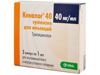 Описание гормонального препарата Кеналог