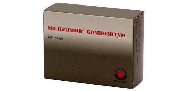 Препарат Мльгама Композитум содержит витамин В1 и В6