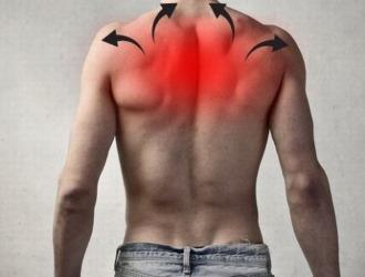 Боли в верхней части спины: причины и лечение