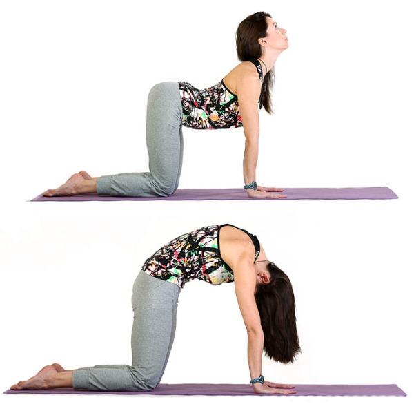 Укрепляем позвоночник при помощи ваджра йоги