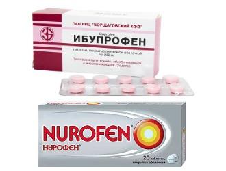 Синонимами МИГ 400 являются Ибупрофен и Нурофен