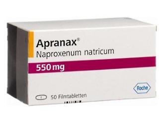 Апранакс - НПВС с активным компонентом напроксен натрия