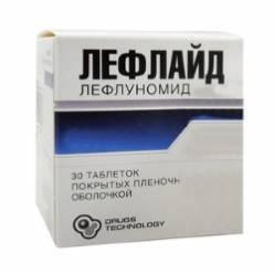 Иммуномоделирующий и антипролиферативный препарат Лефлайд