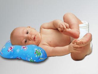 Ортопедические подушки от кривошеи у новорожденных