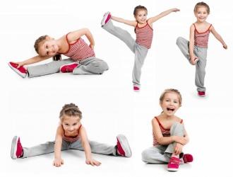 Детей с детства необходимо приучать к физическим упражнениям